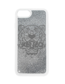 KENZO Case iPhone 8 Tiger Head Silver