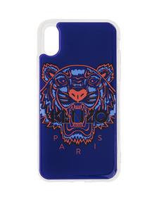 KENZO Iphone X/Xs Case 3D Tiger Head Blue