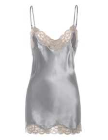 FALCON & BLOOM Romantic Cami Silk Beige Grey