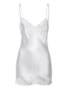 FALCON & BLOOM Romantic Cami Silk White