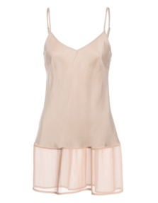 FALCON & BLOOM Fine Silk Trim Nude