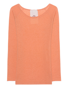 FRIENDLY HUNTING Raglan Crew Neck Roll Exposed Peach