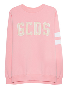 GCDS Logo Sweat Pink