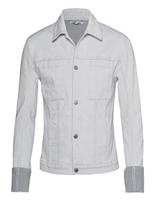 HELMUT LANG Folded Cuff White Grey