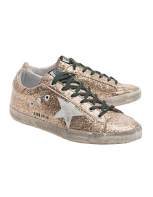 GOLDEN GOOSE Sneakers Superstar Gold Glitter