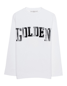GOLDEN GOOSE DELUXE BRAND Raw Cut White Black
