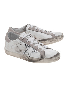 GOLDEN GOOSE Superstar Ribbed Off White