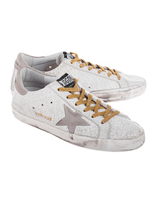 GOLDEN GOOSE Superstar White Crash