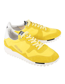 GOLDEN GOOSE DELUXE BRAND Starland Yellow Nylon