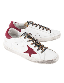 GOLDEN GOOSE DELUXE BRAND Superstar White Gold Leather