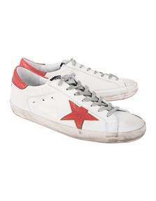 GOLDEN GOOSE DELUXE BRAND Superstar Red White