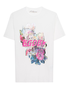 GOLDEN GOOSE DELUXE BRAND Golden Flower White