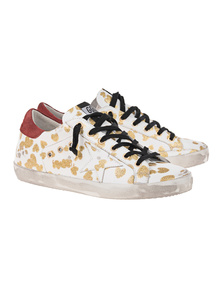 GOLDEN GOOSE DELUXE BRAND Superstar Heart White