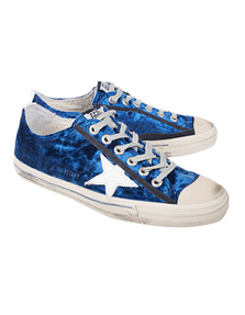 GOLDEN GOOSE DELUXE BRAND V-Star 2 Blue