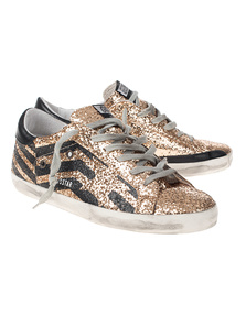 GOLDEN GOOSE DELUXE BRAND Superstar Glitter Gold