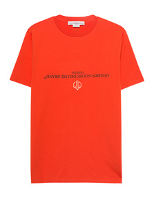 GOLDEN GOOSE DELUXE BRAND Logo Brand Orange
