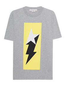 GOLDEN GOOSE DELUXE BRAND Logo Flash Grey