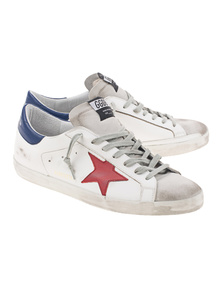 GOLDEN GOOSE DELUXE BRAND Superstar Used Red Star