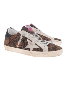 GOLDEN GOOSE DELUXE BRAND Superstar Leopard Multicolor