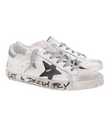 GOLDEN GOOSE DELUXE BRAND Superstar Black Star White
