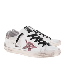 GOLDEN GOOSE DELUXE BRAND Superstar Metal Snake White