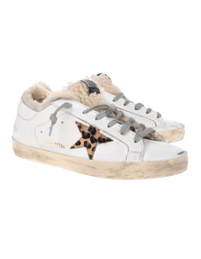 GOLDEN GOOSE DELUXE BRAND Superstar Shearling Leo White