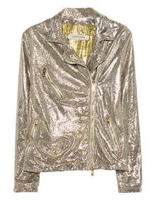 GIORGIO BRATO Leather Glitter Gold