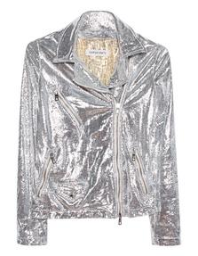 GIORGIO BRATO Leather Glitter Silver