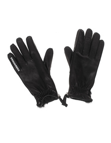 DSQUARED2 Leather Fur Black
