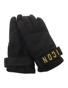 DSQUARED2 Icon Gloves Black
