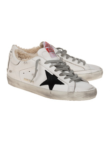 GOLDEN GOOSE DELUXE BRAND Superstar Shearling White