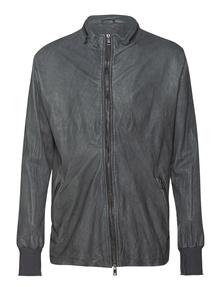 GIORGIO BRATO Leather Iron Grey