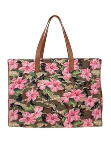 GOLDEN GOOSE DELUXE BRAND California Ibiscus Camouflage Multicolor