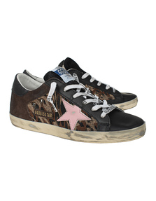 GOLDEN GOOSE DELUXE BRAND Superstar Double Quarter Jacquard Leo