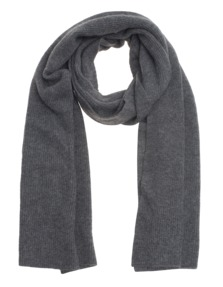 FINE COLLECTION Long Rib Heather Anthra