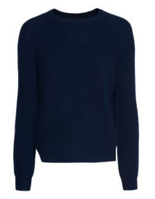 FINE COLLECTION Cozy Cashmere Navy