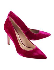 SAM EDELMAN Hazel Pink Velvet