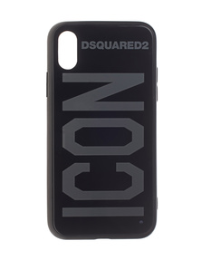 DSQUARED2 Iphone X Icon Mirror Black