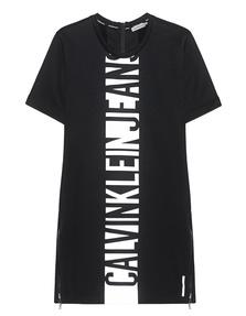 CALVIN KLEIN JEANS Label Line Zip Black