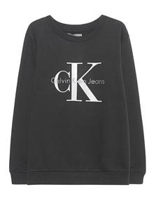 CALVIN KLEIN JEANS CK Sweat Logo Meteorite