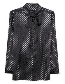 JADICTED Polka Dots Bow Black