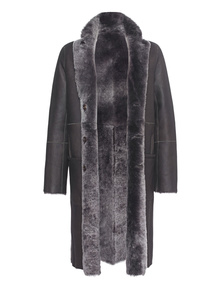 JOSEPH Lamb Fur Anthracite