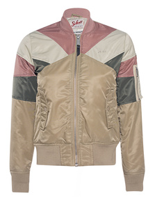 Schott NYC Bomber Rainbow Multicolor