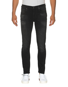 7 FOR ALL MANKIND Slimmy Tapered Black