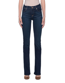 7 FOR ALL MANKIND Bootcut Bair Duchess Darkblue