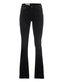 7 FOR ALL MANKIND Bootcut Soho Black