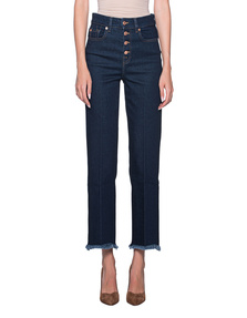 7 FOR ALL MANKIND Vintage Cropped Blue