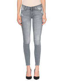 7 FOR ALL MANKIND Skinny Slim Illusion Grey