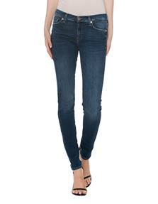 7 FOR ALL MANKIND Skinny Strass Blue
