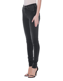 7 FOR ALL MANKIND Skinny Highwaist Black